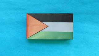 [Stop Motion] Origami Flag Of Palestine 🇵🇸 (Gilad Aharoni)