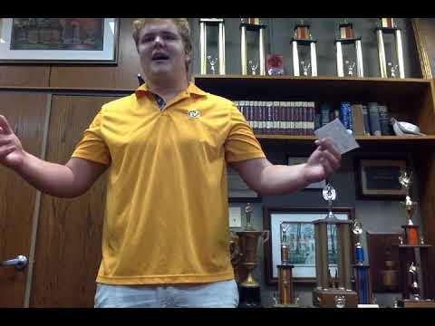 Kevin Frazier: Self Introduction Speech