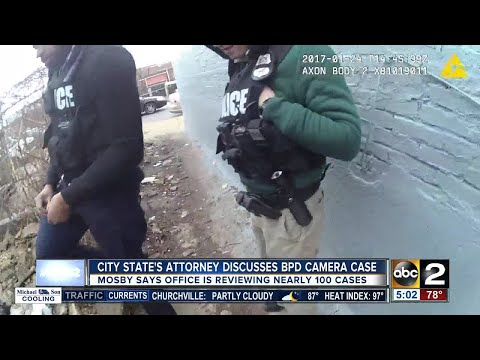 City State's Attorney Marilyn Mosby discusses BPD body camera case