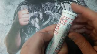 Реальная Качалка  Украинские Шипучие Витамины Энергия. Спортивное питание обзор / распаковка.
