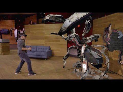 Microsoft Hololens Project XRay Demo | HotHardware