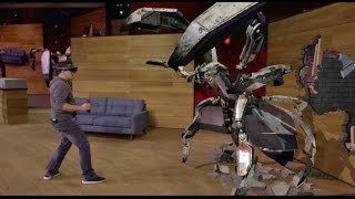 microsoft hololens project xray demo   hothardware