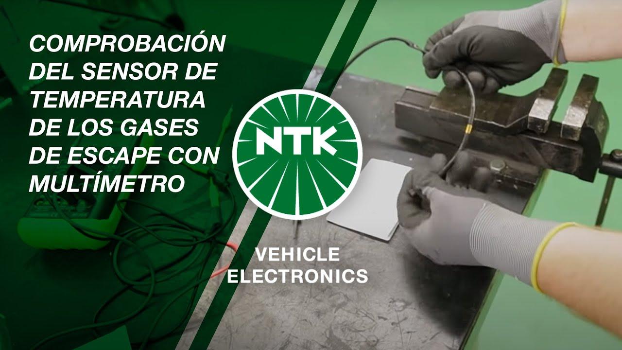 Comprobaci 243 N Del Sensor De Temperatura De Los Gases De