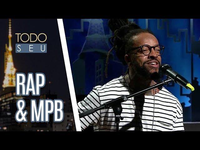 Rapper Rael faz homenagem a Vinícius de Moraes - Todo Seu (20/07/18)