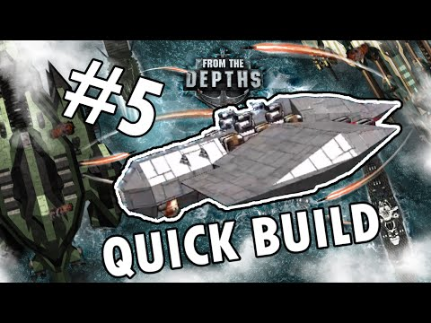 From the Depths Quick Build #5 - Kamikaze... ooops