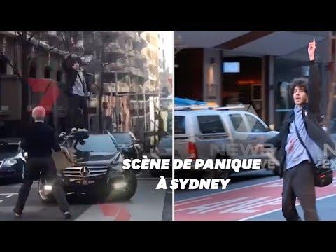 """À Sydney, un homme poignarde une femme aux cris de """"Allah Akbar"""""""
