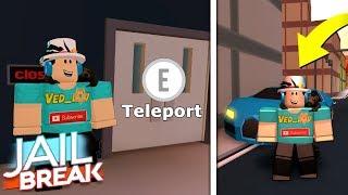 TELEPORT GLITCH IN JAILBREAK! (Roblox)