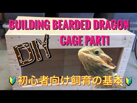 DIY/Building Bearded Dragon cage PART1