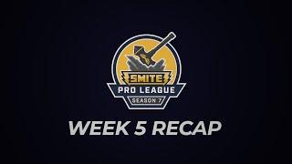 SPL Weekly Recap: Phase 1 Week 5