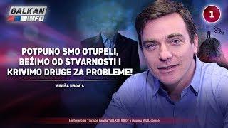 INTERVJU: Siniša Ubović - Potpuno smo otupeli, bežimo od stvarnosti i krivimo druge! (9.1.2020)