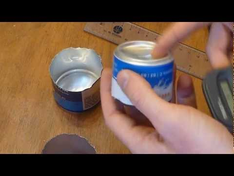 DIY: Mini side burner alcohol stove (9 grams)