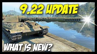 ► Patch 9.22 Update - New Tanks, Features and More! - World of Tanks 9.22 Update Review
