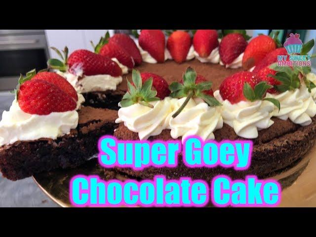 Super Gooey Chocolate Cake - mysweetambitions