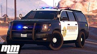 GTA 5: LSPDFR Sheriff Patrol - 2015 Chevy Suburban!