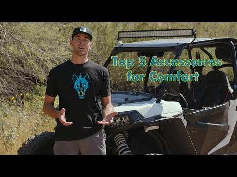 Enjoy Your Ride! Top 5 Accessories for a More Comfortable Ride in Your RZR