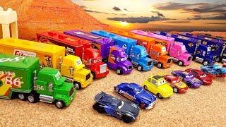 Download Сюрпризы MINI CARS3 Игрушки Машинки с Транспортировщиками Мак / Mack Развивающее видео для детей Mp3 and Videos