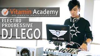 DJ LEGO | Mixing #2 | Serato DJ | Electro Progressive | Vitamin Academy
