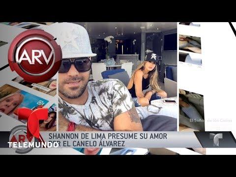 Shannon de Lima presume su amor con el Canelo Alvarez | Al Rojo Vivo | Telemundo