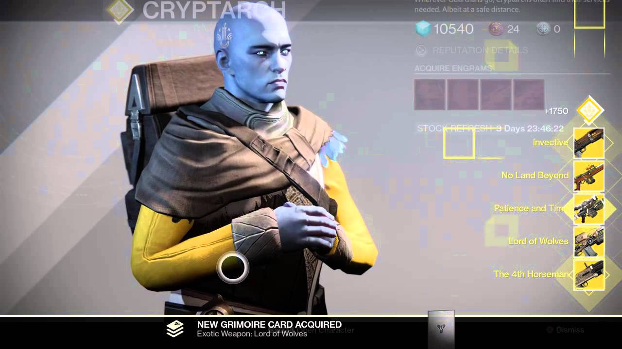 Year 2 destiny player completing year 1 exotic weapons blueprint year 2 destiny player completing year 1 exotic weapons blueprint except necrochasm youtube malvernweather Gallery
