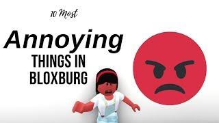 10 Cose più fastidiose a Bloxburg! (Roblox)