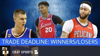 NBA Trade Deadline Winners & Losers: 76ers, Lakers, Clippers, Grizzlies, Celtics And Wizards