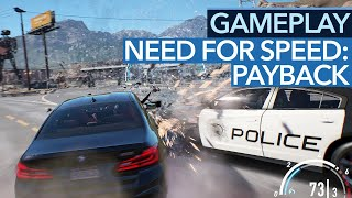 Need for speed: payback - gameplay-demo: cop-verfolgung & offroad-rennen