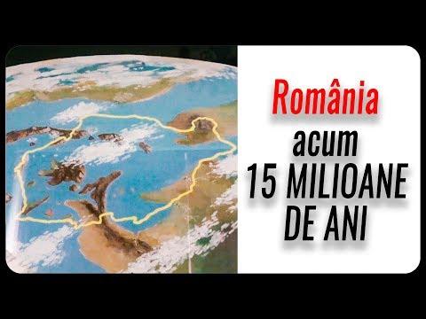 Cum arăta România acum 15 000 000 de ani