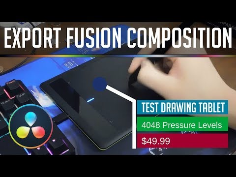 How to Import and Export Fusion Compositions as Settings Files | Resolve 15 Tutorial
