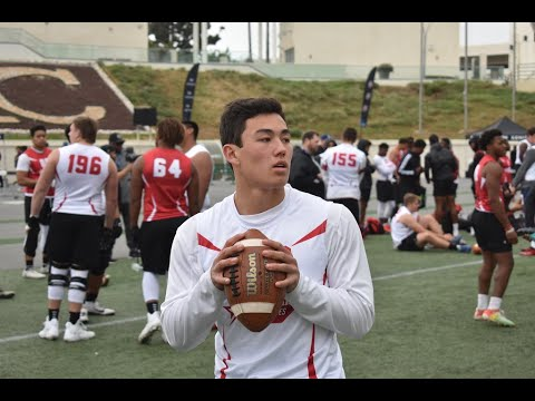 Analysis of Notre Dame Quarterback Commit Tyler Buchner From LA Rivals Camp