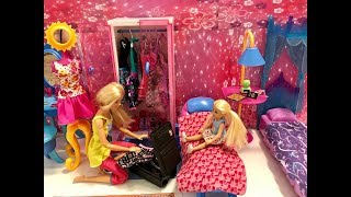 Barbie Bedroom Morning Routine! Chelsea at the PARK!