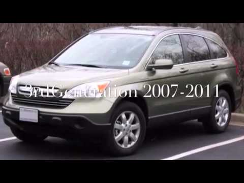 Honda CRV timeline 1997-present - YouTube