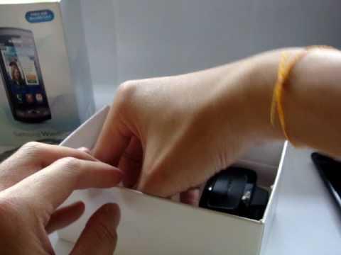 1) Samsung Wave UnBoxing.MPG