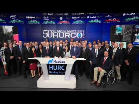 Hurco Nasdaq Closing Bell Recap Video