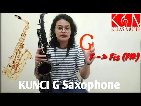 Jurus Main Kunci / Tangga Nada G di Alto Saxophone - Kelas Musik