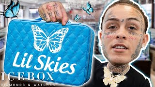 Lil Skies Drops by Icebox for New Custom Jewelry!!!