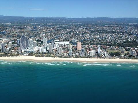 Gold Coast Helicopter Flight Queensland Australia  YouTube