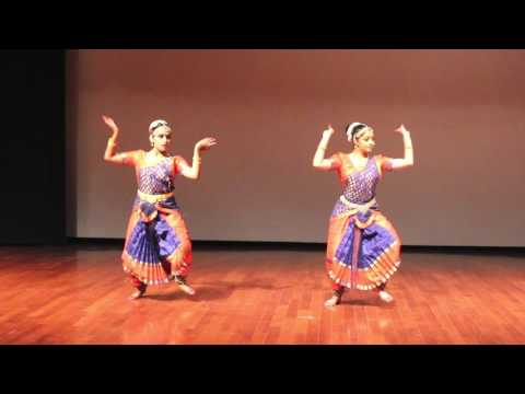 Shiva Tandavs Stotram/Indian Classical Dance cover/ Bharatnataryam/Cosmic Dance/ Srija and Divya.