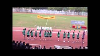 仁濟醫院靚次伯紀念中學 - 第十九屆陸運會 - 啦啦隊表演 - 群社