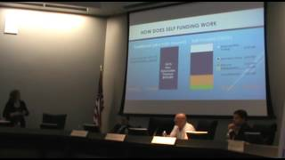 Theresa McIntosh presents at Free Market Health Care Town Hall