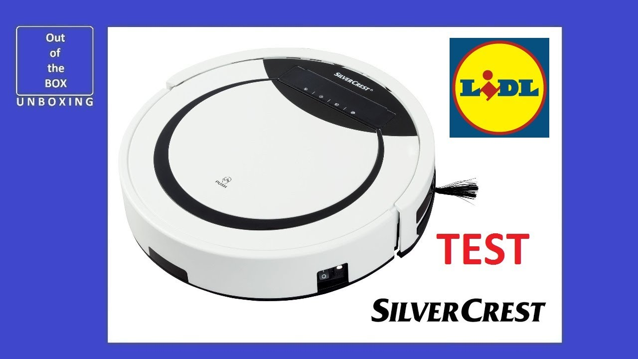 silvercrest robot vacuum cleaner ssr 3000 a1 review test lidl hepa 20w 0 3l 0 5kpa