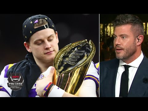 Joe Burrow and the Bengals should sign contract immediately – Jesse Palmer | College Football Final