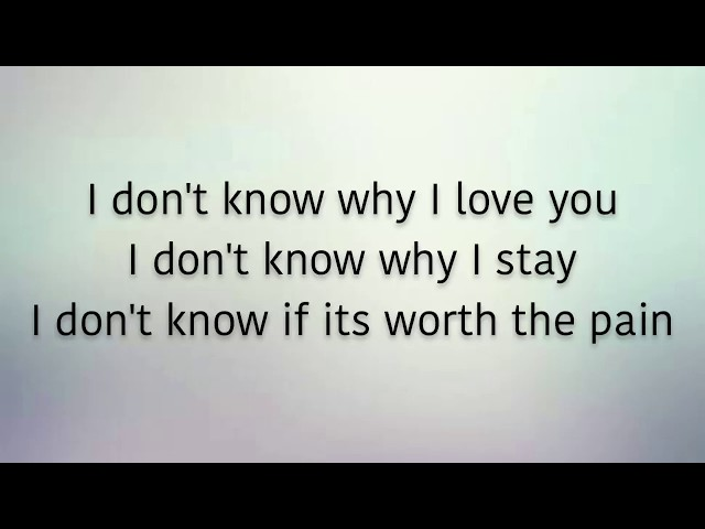 Ruth B. - Mixed Signals (Lyrics)
