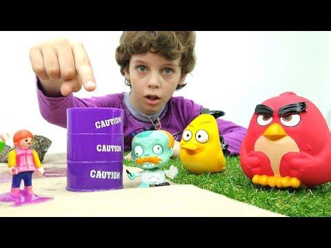 Игрушки Энгри Бёрдс Гоу Дженга на русском. Angry Birds Jenga Toys by Hasbro. Игра Энгри Бёрдс.