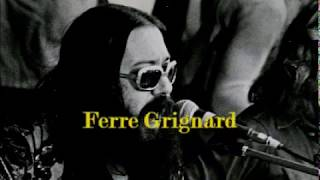 Ferre Grignard   Ring, Ring, I've Got To Sing