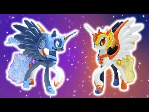 Daybreaker and Nightmare Moon Custom Split Pony Transformation