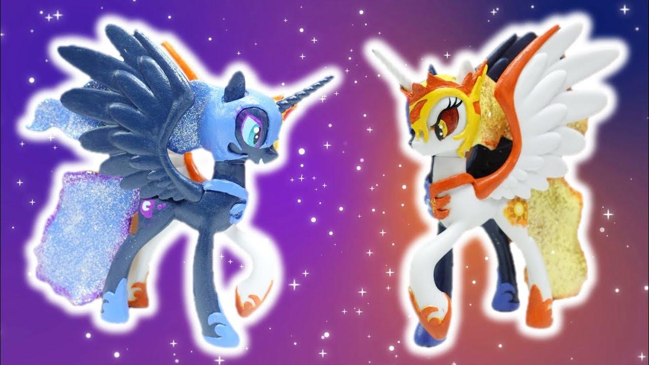 Daybreaker and Nightmare Moon Custom Split Pony Transformation