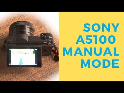 Sony A5100 Manual Mode