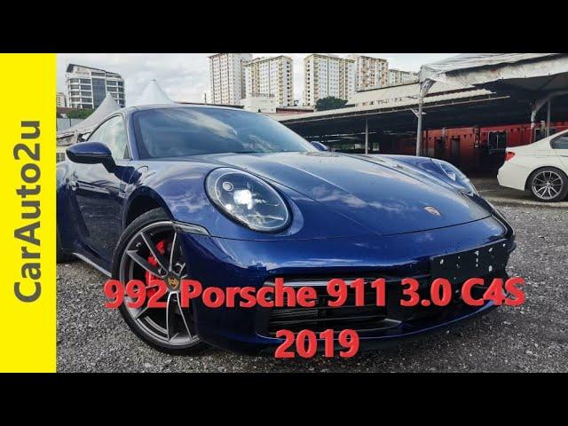 2019 992 Porsche 911 3.0 C4S RM930,000