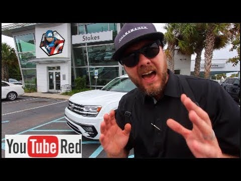 New 2018 VW ATLAS R-LINE | Review, Test Drive & 😎 Reaction | NOT SO BORING LOL