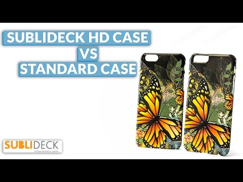 Personalised Phone Cases: Sublideck HD Case Vs Standard Case – Dye Sublimation Supplies